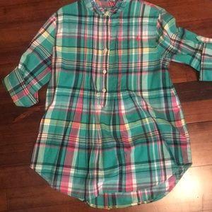Ralph Lauren plaid tunic